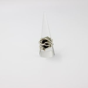 Pyrite Sterling Silver Wire Wrapped Ring